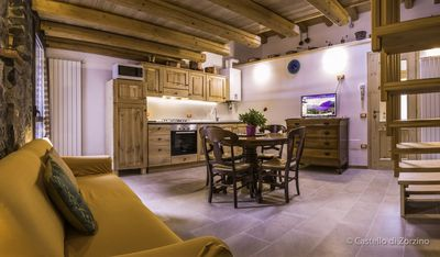 Photo for Cozy apartment in a historic building in Zorzino