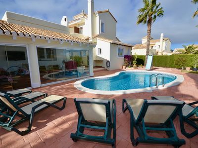 Photo for Perfect family detached community villa in the heart of La Manga Club