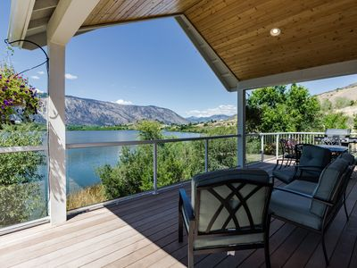 Photo for Spacious lakefront home w/ nearby boat ramp, just minutes from town!