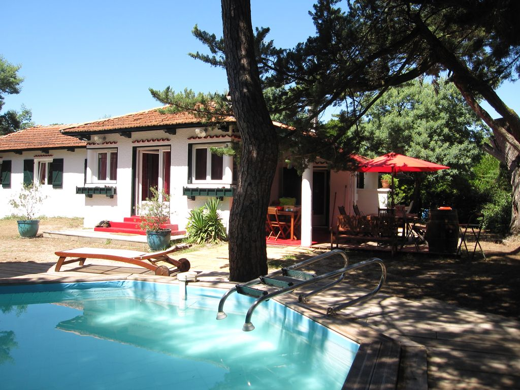 Pointe du Cap-Ferret: House of character with swimming ... - 1405806