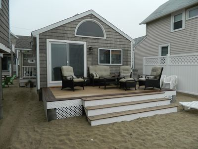 Photo for Newly Remodeled 2 Bedroom Cottage On The Beach.  ( The Kaitlyn Cottage)