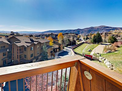 Balcony - Welcome to Steamboat! This slope-side unit is professionally managed by TurnKey Vacation Rentals.