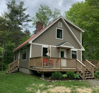 Photo for Cozy ski cabin; sleeps 6; Waitsfield/Warren VT; close to Sugarbush