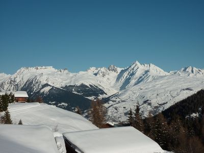 Photo for Beautiful Duplex La Plagne - ski slopes - loc Sunday, sheets and cleaning included
