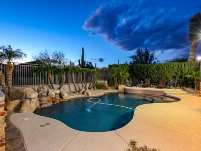 Photo for Luxury Home Near TPC, Barrett Jackson, Spring Training. Private Heated Pool