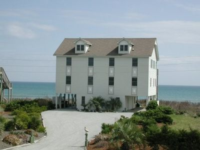Photo for PANORAMIC OCEANFRONT LIVING -Steps to the ocean!! Walk to town!!