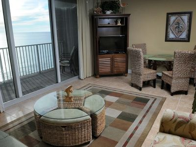 Photo for FREE BEACH SERVICE thru 3/1-10/31/19 Gulf front 2 bedroom 3 bath sleeps 8