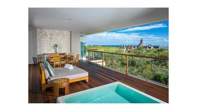 Photo for Grand Luxxe Spa Tower Riviera Maya, Mexico 2 BR 2.5 BA Sleeps 6 + 2 children