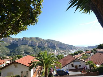 Photo for Modern Holiday Home with Sea View in Ventimiglia