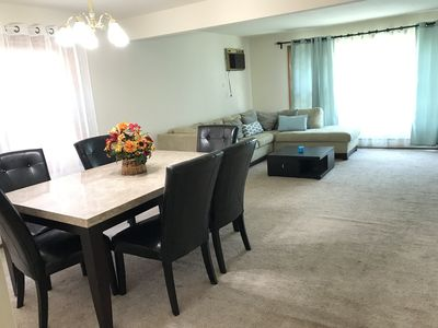 Photo for Entire cozy 2 bedroom near O'Hare