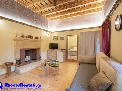 Photo for Rhodes Old Town Castello Suite