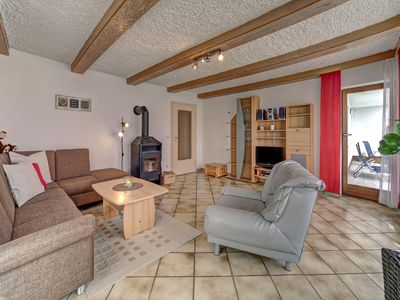 Photo for Apartment Sunflower **** 85 sqm. Living room with fireplace, two bedrooms