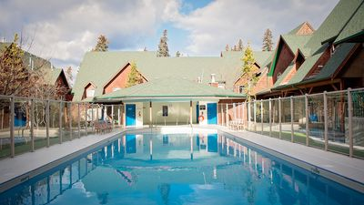 Photo for RELAXING YEAR ROUND POOLSIDE CHALET 2BR/2BATH