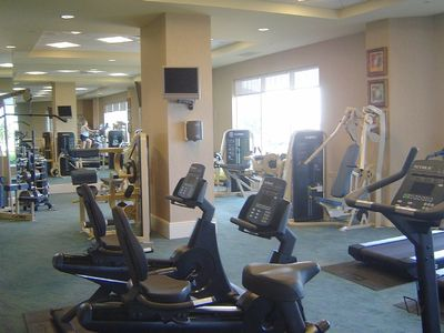 World Class Fitness Center with a Stunning View of the Gulf of Mexico