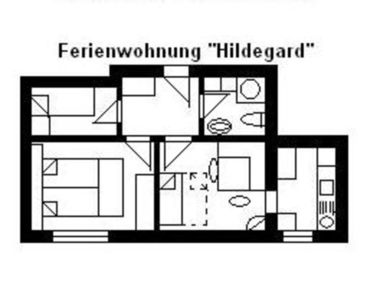 """Photo for Apartment """"U2"""" for 1- 6 persons, 25 km to Frankfurt-Nord - House U, for 1-15 persons, 25km to FFM-Nord"""