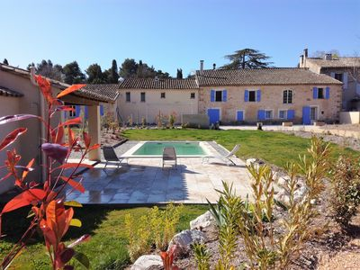 Photo for Superb property, 2 private pools, Saint Remy de Provence, walled garden