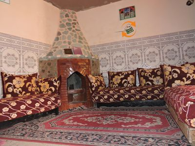 Photo for Moroccan typical house in the berber village, OURIKA valley, Settifatma falls.