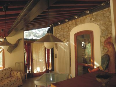 Photo for On the hills of olive groves between Lucca / Pisa country house with pool