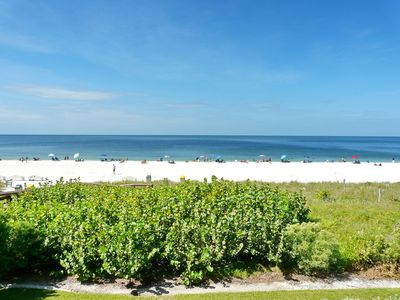 Photo for Unmatched beachfront condo w/ extra-spacious balcony & heated pool