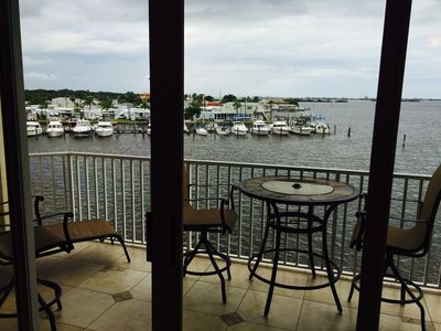 Photo for Looking for waterfront condo with private balcony facing Boca Ciega Bay?