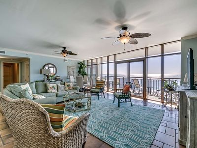 Photo for Summer Special Rates! Spacious 6th Floor Oceanfront Condo in North Beach Plantation
