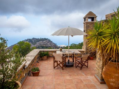 Photo for SMARAGDA ART COUNTRY HOUSE a lovers nest or family resort, spectacular sea views