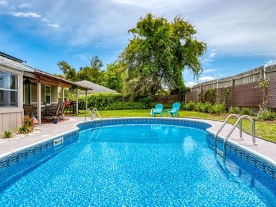 Photo for Spacious House for Large families! POOL, Convenient to Downtown, Beach, Boat ramp, Free attractions!