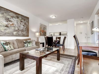 Photo for Bright & Spacious 1BR | Ideal for Business & Medical | Midotwn by GLS