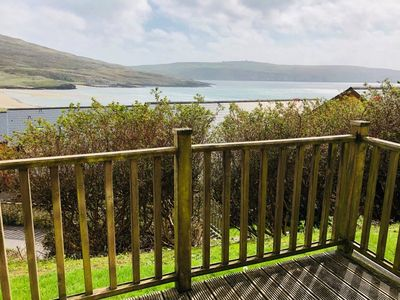 Photo for Lovely 2 bedroom apartment with seaview and outdoor deck
