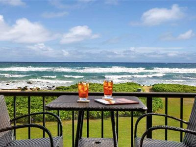 Oceanfront 2 bed/2 bath; air conditioned bedrooms
