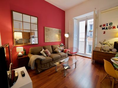 Photo for aWesome cHic mAdrid cEnter 2 .-   WIFI - A/ C.2 Br & 2 Bathr. Summer18 Offer