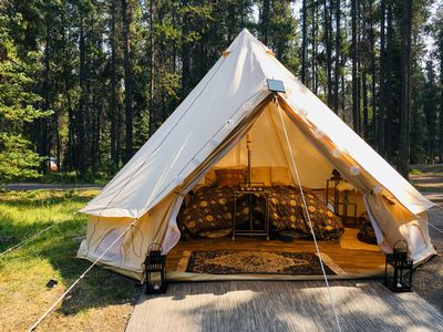 Photo for Luxury Tent—Golden Nights