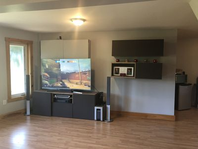 "Large 65"" TV to watch with a home theater system"