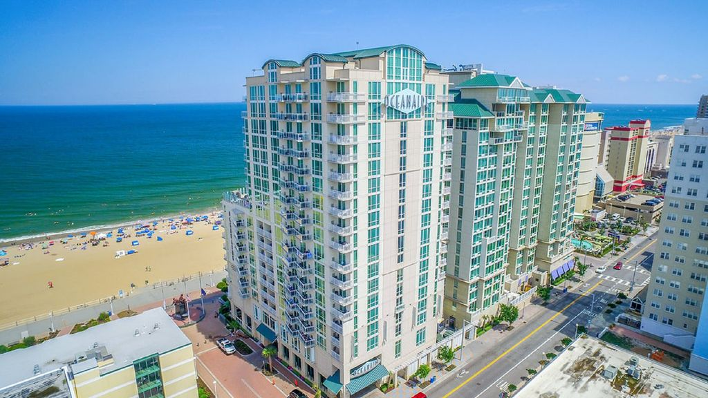Beautiful oceanfront 2 bedroom luxury suite at oceanaire - 2 bedroom hotels in virginia beach ...