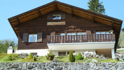 Chalet Dornen at easter