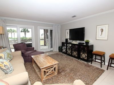 Photo for Needle Rush Point B13 - Beach Front Unit on Ground Floor!