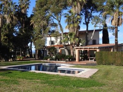 Photo for The house of Riu Vell, house with pool and garden of 4000m2