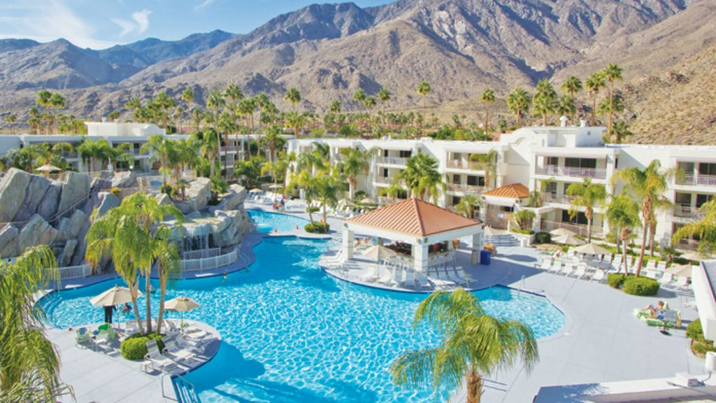 Nice 1 bedroom condo in palm springs canyon corridor - Palm canyon resort 2 bedroom villa ...