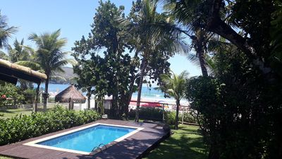 Photo for Beautiful House with Pool in front of Maresias Beach!