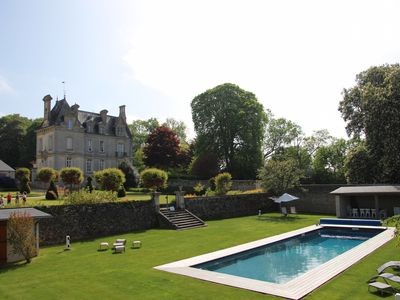 Photo for Château d'Argouges, Bayeux, Best D-Day Vacation Home with Heated Swimming Pool