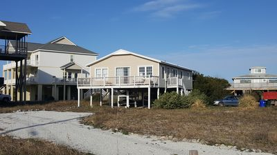 Photo for Sandy Dreams: Beautiful Oceanfront 3BR/2BA Home in North Topsail Beach
