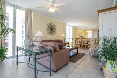 Spacious, All-Tile Condo is Stylish and Comfy