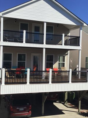 Photo for NEW LISTING - Ocean Lakes Site 1182 - 4 Bedroom/3 Bath with Ocean Views