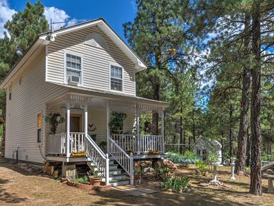 Photo for Secluded Pagosa Springs Home w/Porch & Wooded Yard