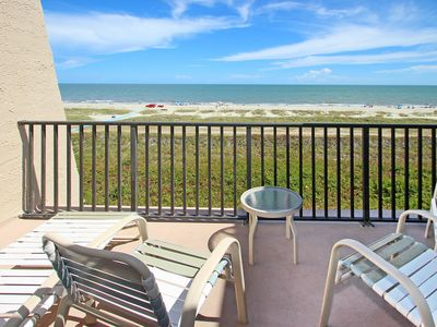 Photo for Cozy oceanfront condo w/ ocean views, shared pool, hot tub & more - beach nearby