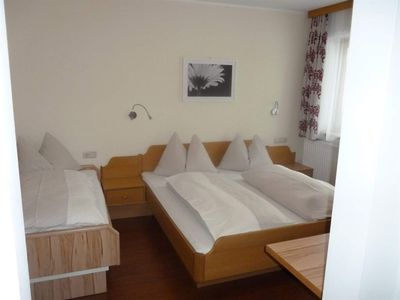 Photo for Triple room 20 (1 bedroom) - Theresa, *** Hotel- pension
