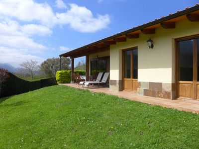 Photo for House with 3 bedrooms, garden with barbecue, only 5 km from the beach
