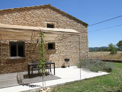 "Photo for In calm on the commune of Gordes, the lodging ""Le Cèdre"" 4 to 6 people"