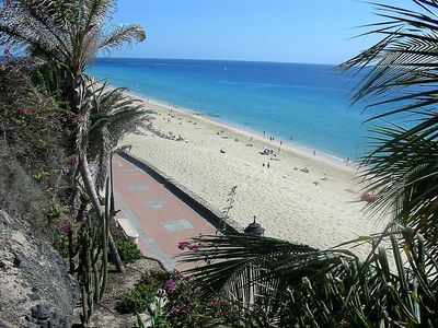 Photo for Apartment 2 / 4p 1st line of sea, overlooking the beach, swimming pools, equipped. WIFI
