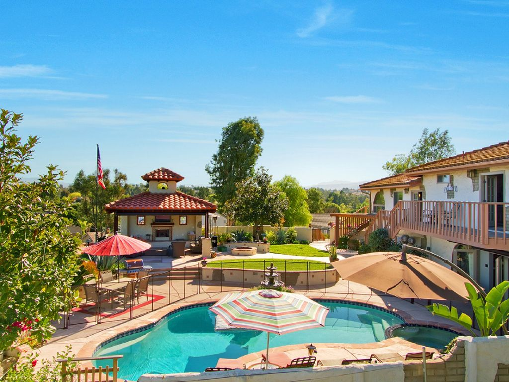 Mission Style Custom Pool Home In Heart Of Temecula With Outstanding
